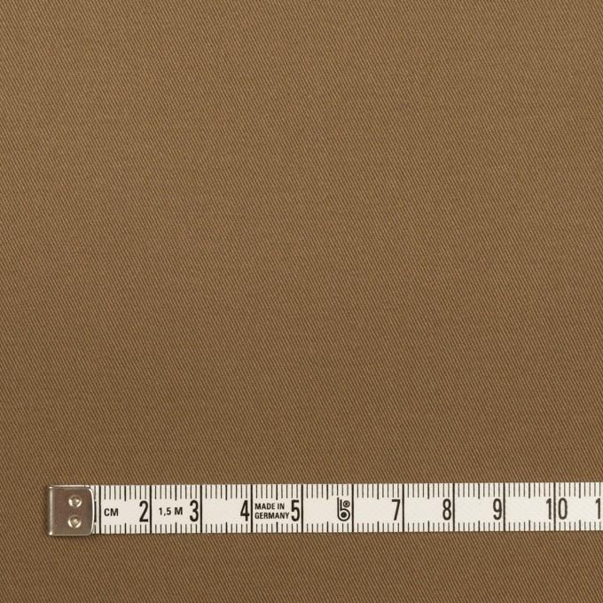 コットン&ポリウレタン×無地(モカブラウン)×チノクロス・ストレッチ イメージ4