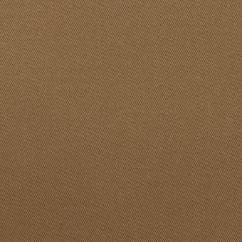 コットン&ポリウレタン×無地(モカブラウン)×チノクロス・ストレッチ