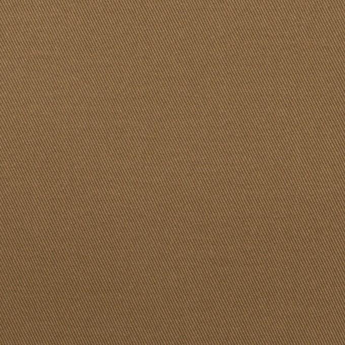 コットン&ポリウレタン×無地(モカブラウン)×チノクロス・ストレッチ イメージ1