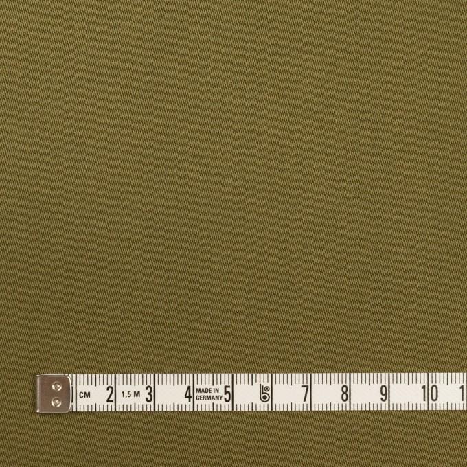 コットン×無地(カーキグリーン)×二重織 イメージ4