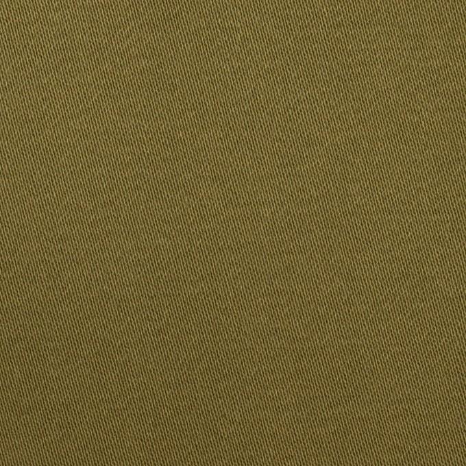 コットン×無地(カーキグリーン)×二重織 イメージ1
