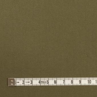 コットン×無地(アッシュカーキグリーン)×ヘリンボーン サムネイル4