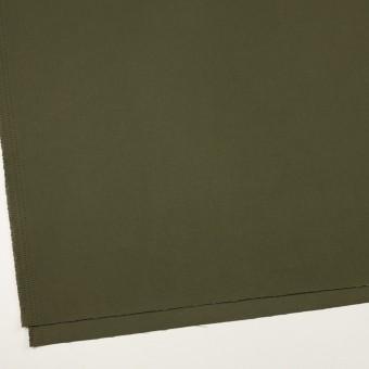 コットン×無地(ダークカーキグリーン)×二重織 サムネイル2