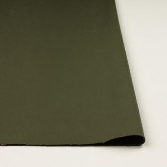 コットン×無地(ダークカーキグリーン)×二重織 サムネイル3