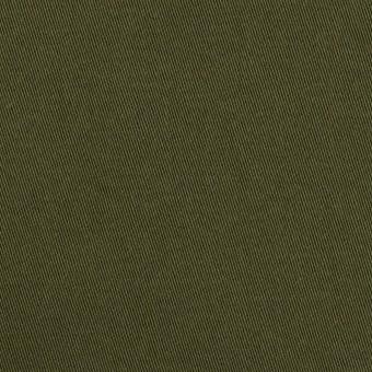 コットン×無地(ダークカーキグリーン)×二重織 サムネイル1
