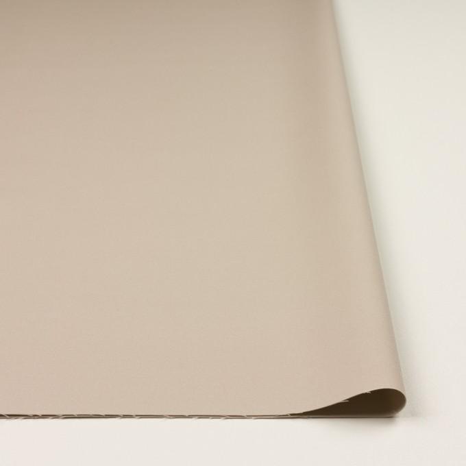 コットン&レーヨン混×無地(グレイッシュベージュ)×二重織_全3色 イメージ3