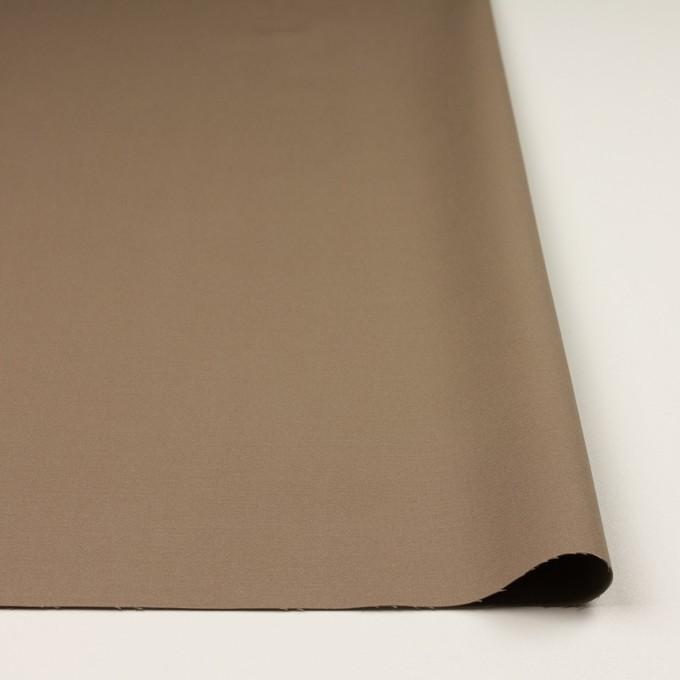 コットン&レーヨン混×無地(モカブラウン)×二重織_全3色 イメージ3