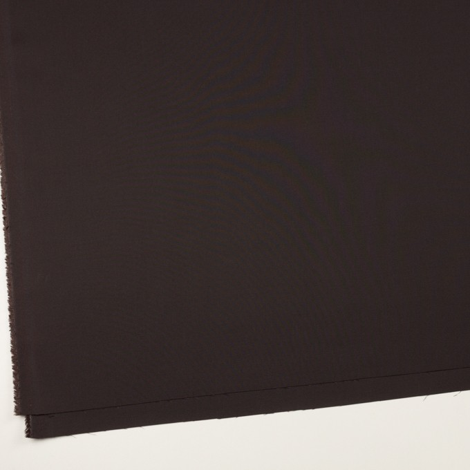 コットン&レーヨン混×無地(ビターチョコレート)×二重織_全3色 イメージ2