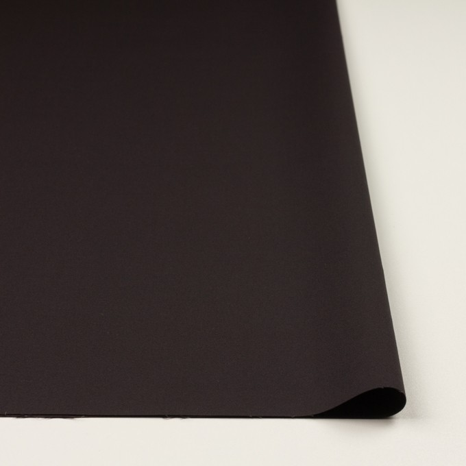 コットン&レーヨン混×無地(ビターチョコレート)×二重織_全3色 イメージ3