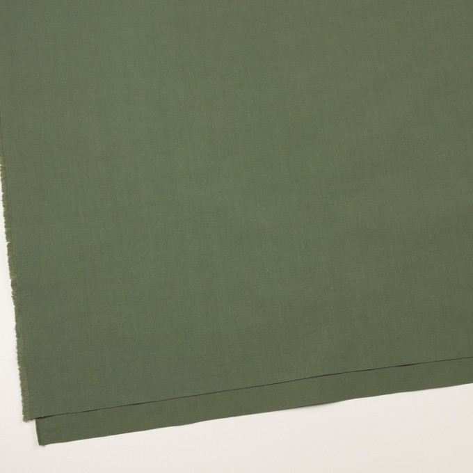 コットン&ナイロン×無地(フォレストグリーン)×リップストップ_全2色 イメージ2