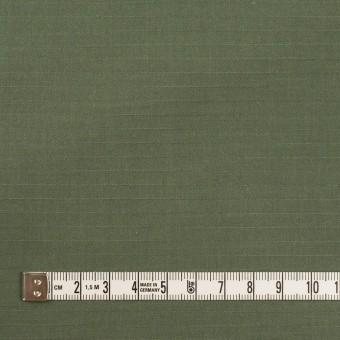 コットン&ナイロン×無地(フォレストグリーン)×リップストップ_全2色 サムネイル4