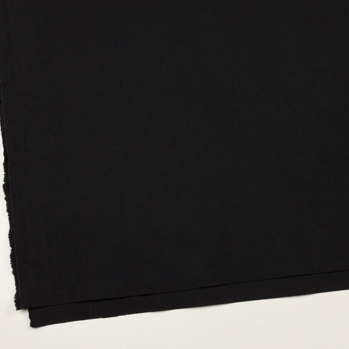 コットン&ナイロン×無地(ブラック)×リップストップ_全2色 イメージ2