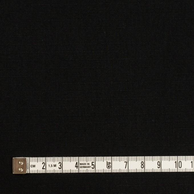 コットン&ナイロン×無地(ブラック)×リップストップ_全2色 イメージ4