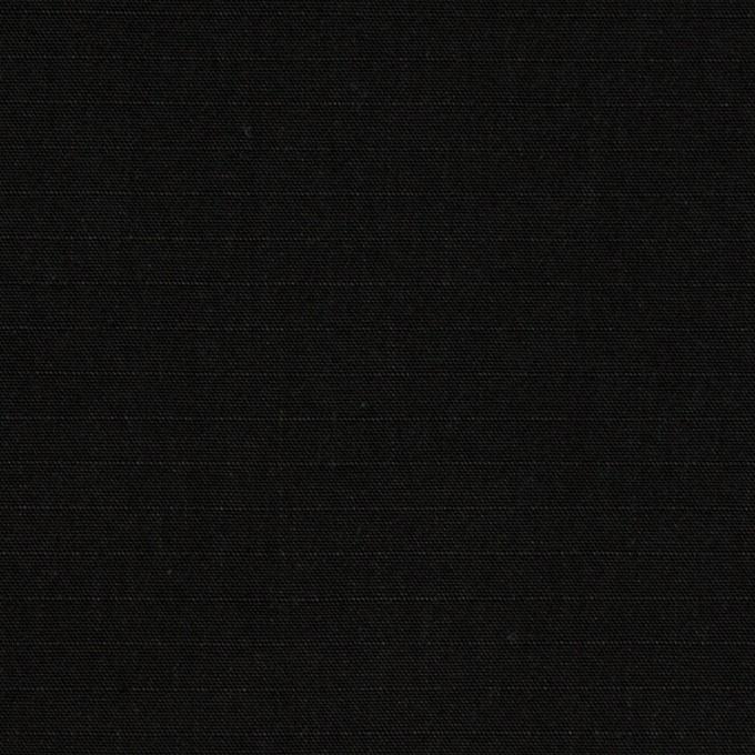 コットン&ナイロン×無地(ブラック)×リップストップ_全2色 イメージ1