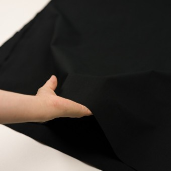 コットン&ナイロン×無地(ブラック)×リップストップ_全2色 サムネイル5