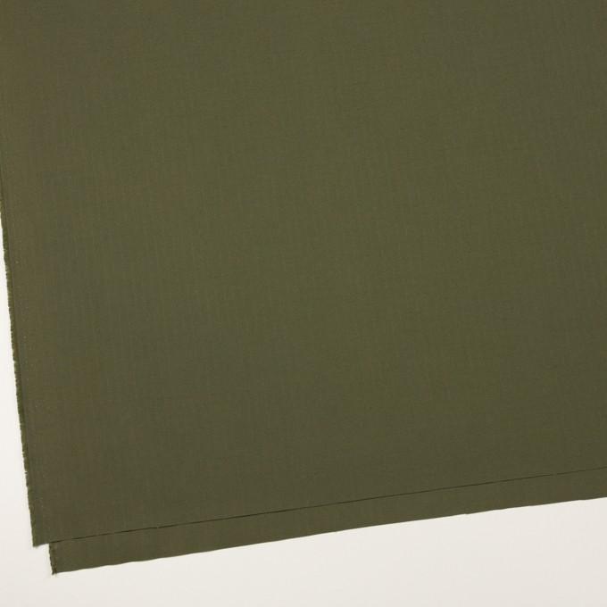 コットン×無地(カーキグリーン)×リップストップ_全2色 イメージ2