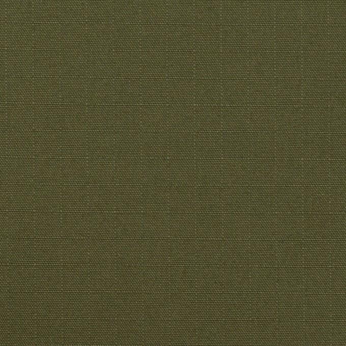 コットン×無地(カーキグリーン)×リップストップ_全2色 イメージ1