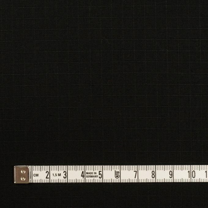 コットン×無地(ブラック)×リップストップ_全2色 イメージ4