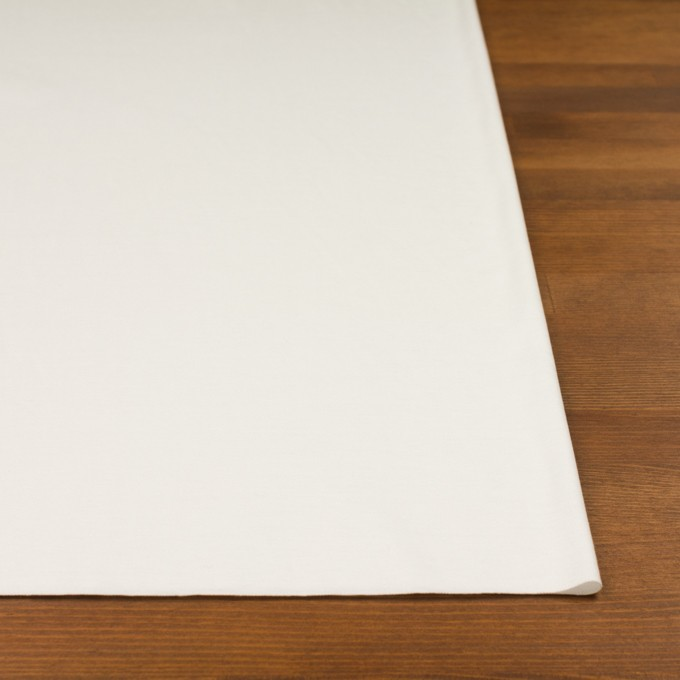 コットン&モダール×無地(オフホワイト)×スムースニット イメージ3