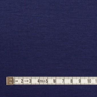 コットン&モダール×無地(プルシアンブルー)×スムースニット サムネイル4