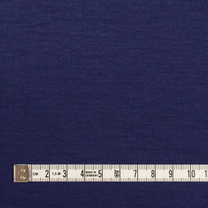 コットン&モダール×無地(プルシアンブルー)×スムースニット イメージ4