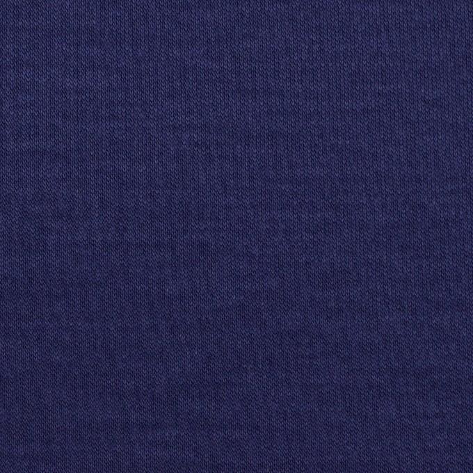 コットン&モダール×無地(プルシアンブルー)×スムースニット イメージ1