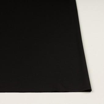 コットン×無地(ブラック)×スムースニット サムネイル3
