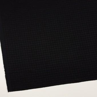 レーヨン×千鳥格子(ブラック)×二重織ジャガード サムネイル2