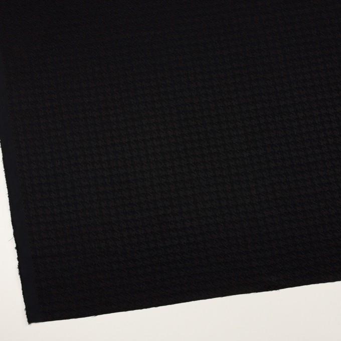 レーヨン×千鳥格子(ブラック)×二重織ジャガード イメージ2