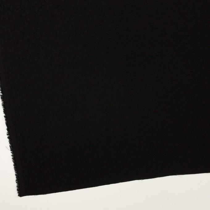 レーヨン×幾何学模様(ブラック)×フクレジャガード イメージ2