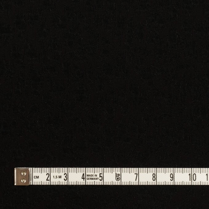 レーヨン×幾何学模様(ブラック)×フクレジャガード イメージ4