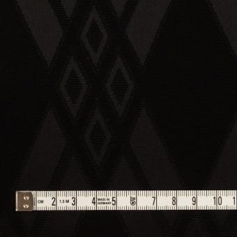 トリアセテート&ポリエステル×ダイヤ(ブラック)×サテンジャガード サムネイル4