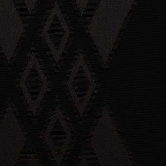 トリアセテート&ポリエステル×ダイヤ(ブラック)×サテンジャガード