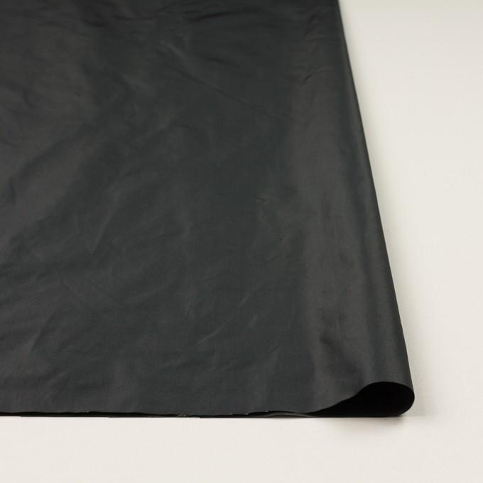 ポリエステル×無地(ガンメタリック)×形状記憶シャンブレー・タフタ イメージ3