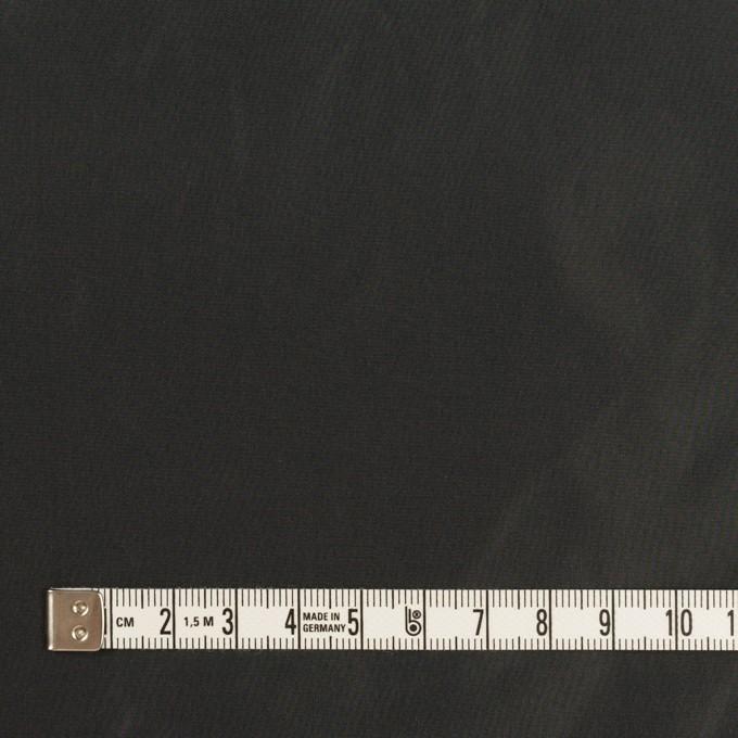 ポリエステル×無地(ガンメタリック)×形状記憶シャンブレー・タフタ イメージ4