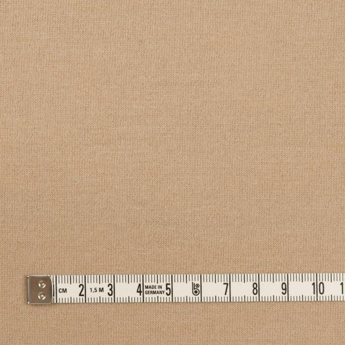 ウール×無地(ベージュ)×天竺ニット イメージ4