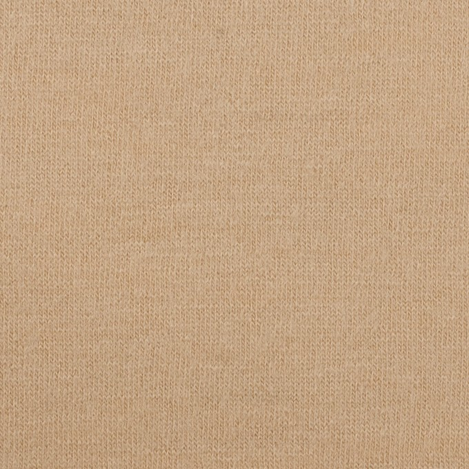 ウール×無地(ベージュ)×天竺ニット イメージ1