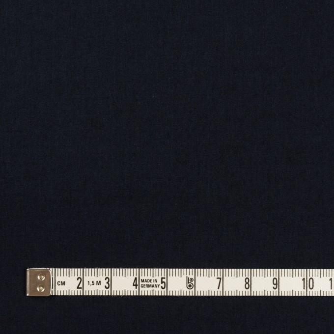 コットン&ナイロン×無地(ネイビー)×高密ポプリン イメージ4