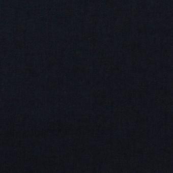 コットン&ナイロン×無地(ネイビー)×高密ポプリン