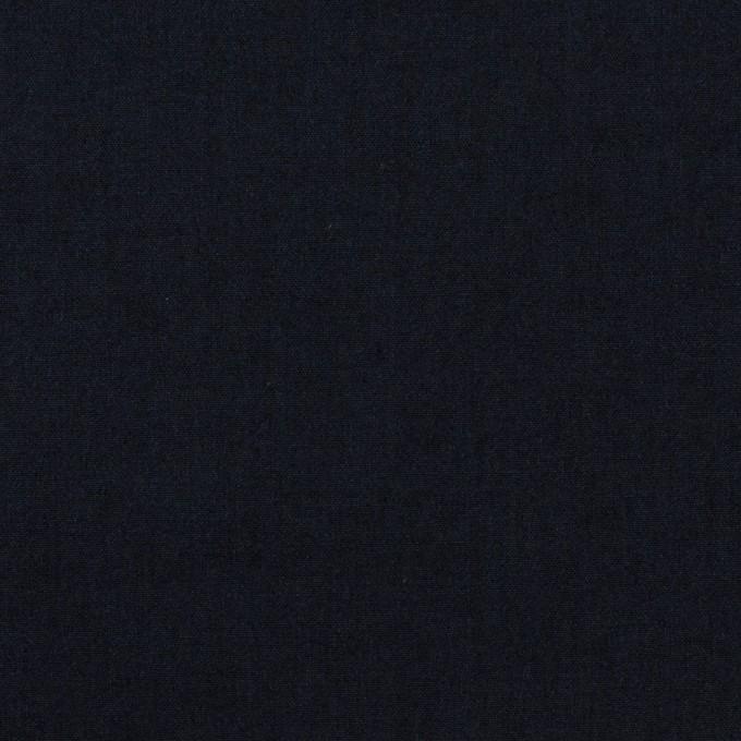 コットン&ナイロン×無地(ネイビー)×高密ポプリン イメージ1