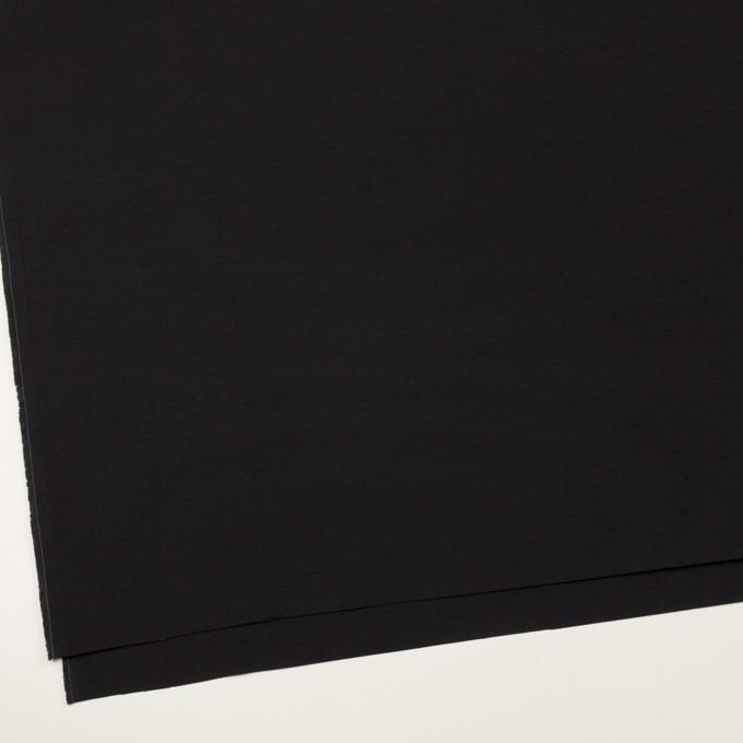 コットン&ナイロン×無地(ブラック)×タッサーポプリン イメージ2