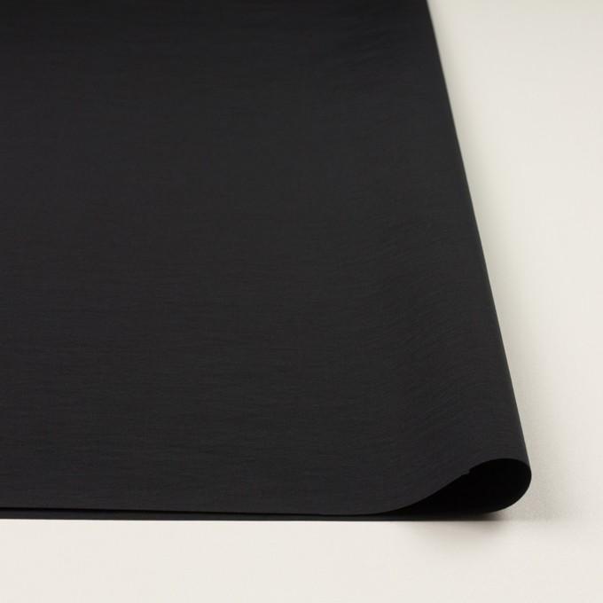 コットン&ナイロン×無地(ブラック)×タッサーポプリン イメージ3