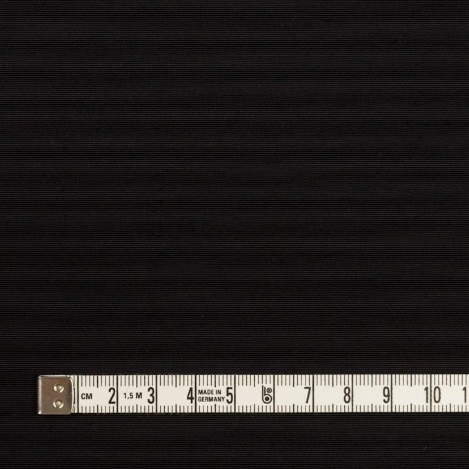 コットン&ナイロン×無地(ブラック)×タッサーポプリン イメージ4