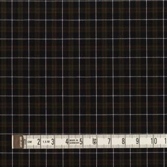 コットン×チェック(ダークネイビー、グリーン&レッド)×ブロード サムネイル4