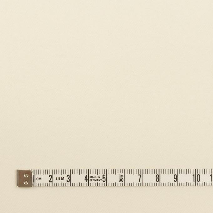 ウール×無地(クリーム)×サージ イメージ4