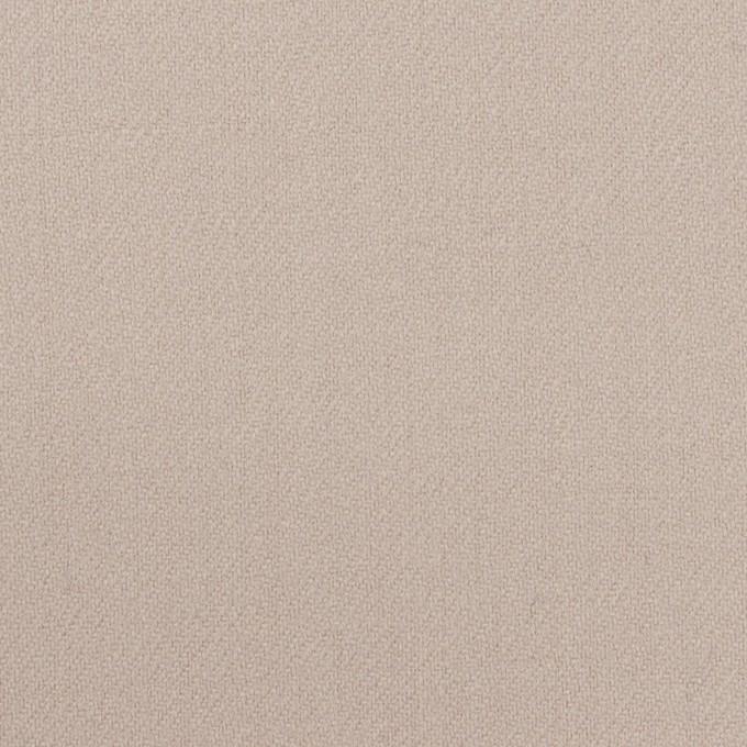 ウール×無地(オイスター)×サキソニー イメージ1