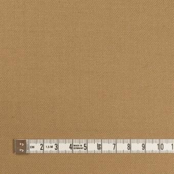 ウール&ポリウレタン×無地(カーキベージュ)×サージストレッチ サムネイル4