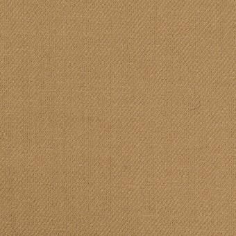 ウール&ポリウレタン×無地(カーキベージュ)×サージストレッチ サムネイル1