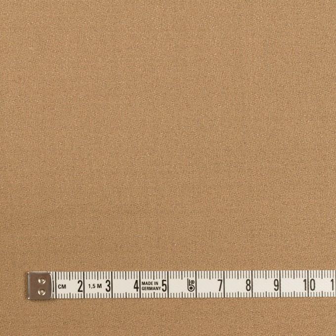 ウール×無地(チャイ)×ジョーゼット イメージ4