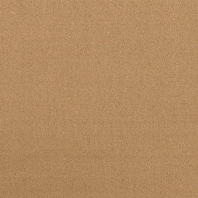 ウール×無地(チャイ)×ジョーゼット イメージ1